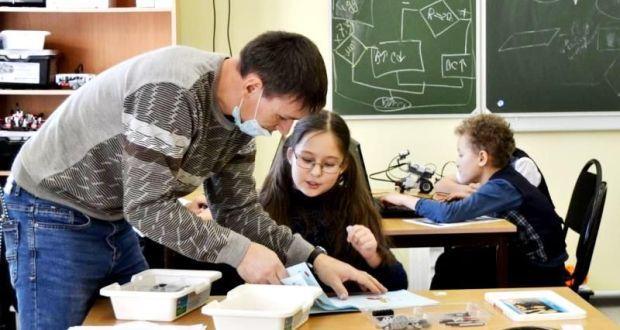 В Камышлинской школе действует мини-технопарк «Квантум»
