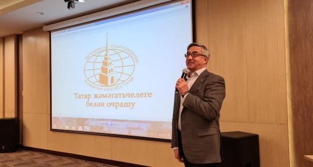 Председатель Нацсовета провел встречу с активом татарских общественных организаций РБ