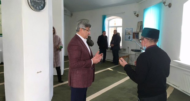 Chairman of the National Council visited the mosque in Solyanka village