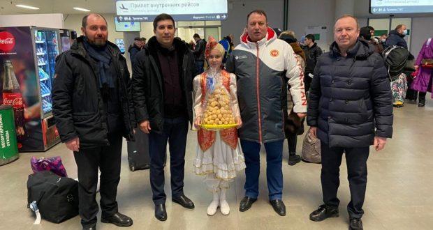 Данис Шакиров прибыл с рабочей поездкой в Самарскую область