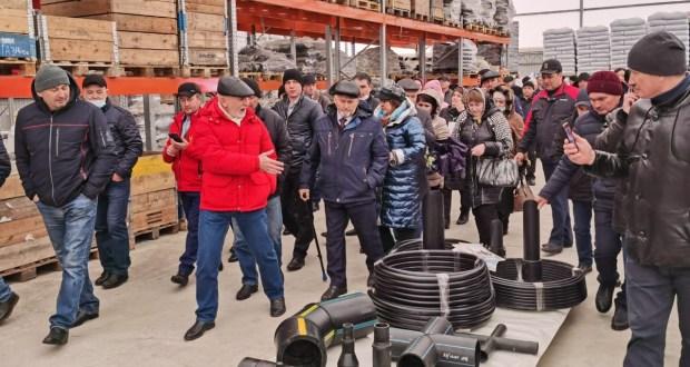 Участники IX Всероссийского схода предпринимателей татарских сёл завершили тур по Тукаевскому муниципальному району