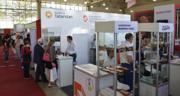 Республика Татарстан представлена на XX Международной выставке UzFood-2021 в Ташкенте
