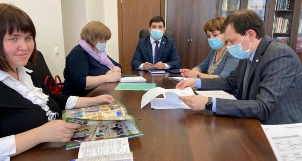 Данис Шакиров провел совещание по подготовке курсов, посвященных организации праздника Сабантуй