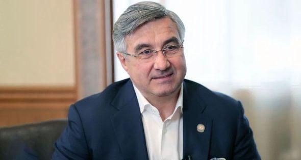 Васил Шәйхразыев Тукай районын 45-еллык юбилее белән котлады