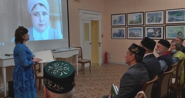 В «Татарской гостиной» прошел творческий вечер «Ислам в истории татарского народа