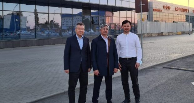 Василь Шайхразиев прибыл с рабочим визитом в Башкортостан