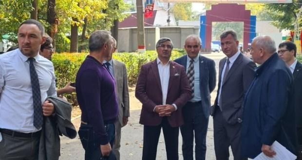 Председатель Национального совета ознакомился с местами проведения XXI Федерального Сабантуя в Ульяновске