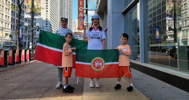 ФОТОРЕПОРТАЖ: Чикагода яшәүче татарлар да Түбәтәй киеп йөгерү марафонына кушылды