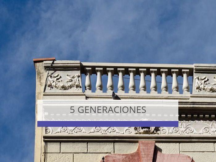 5 geneneraciones