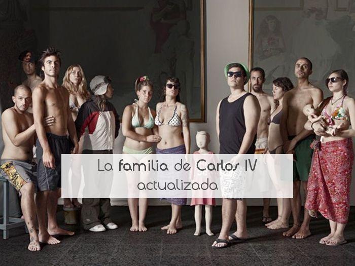 La familia de Carlos IV actualizada