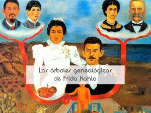 Los árboles genealógicos de Frida Kahlo