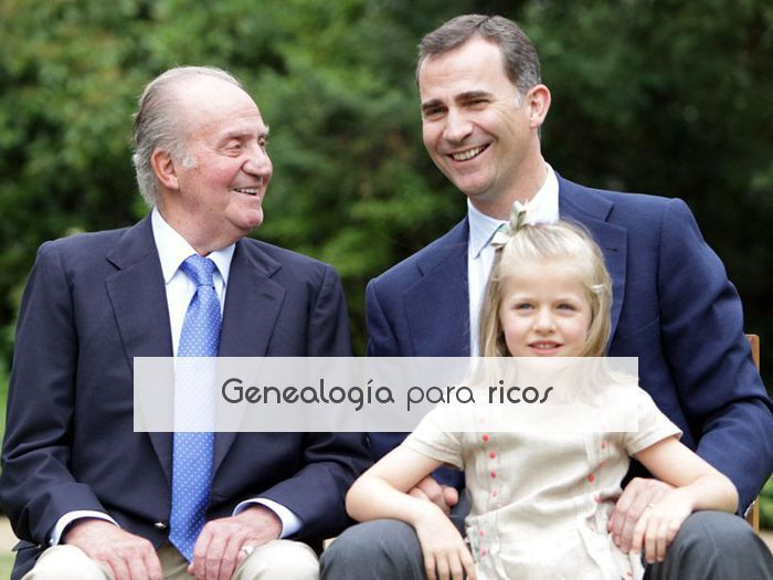 Genealogía para ricos