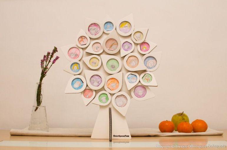 OnceUponaTree BonMini marco de fotografías para árbol genealógico