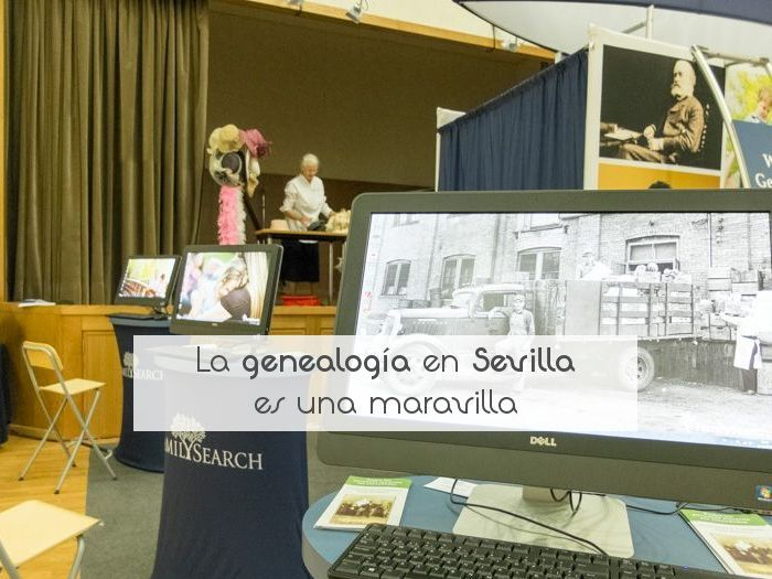 La genealogía en Sevilla es una maravilla