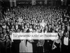 us parientes están en Facebook
