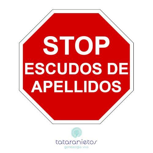 STOP escudos apellidos