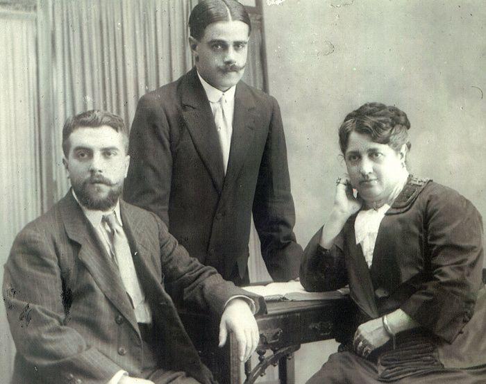 Dorotea Ripol y Daniel y Miguel de Yzaguirre Ripol