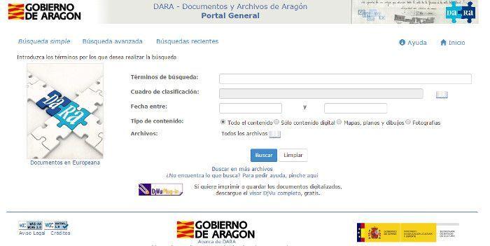 Portal DARA Aragón