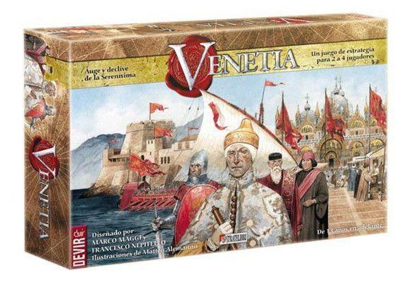 Venetia, juego de mesa