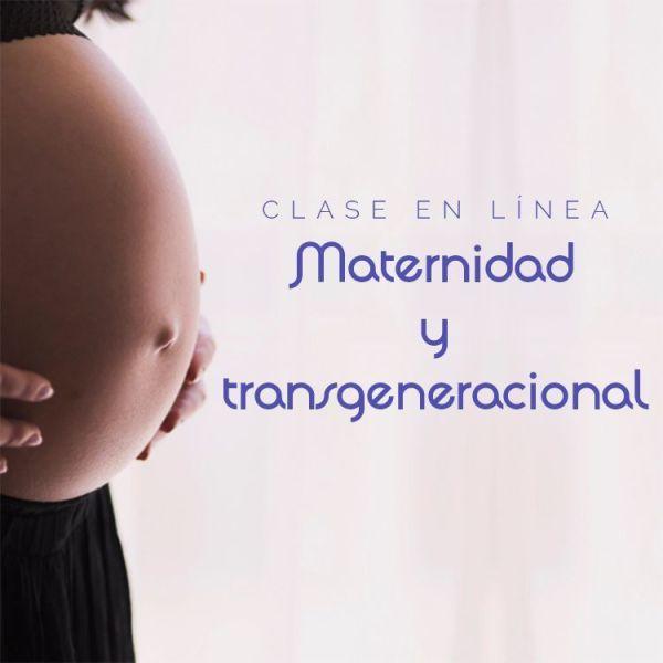 """Clase en línea """"Maternidad y transgeneracional"""""""