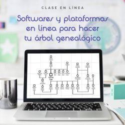 """Clase en línea """"Softwares y plataformas en línea para hacer tu árbol genealógico"""""""