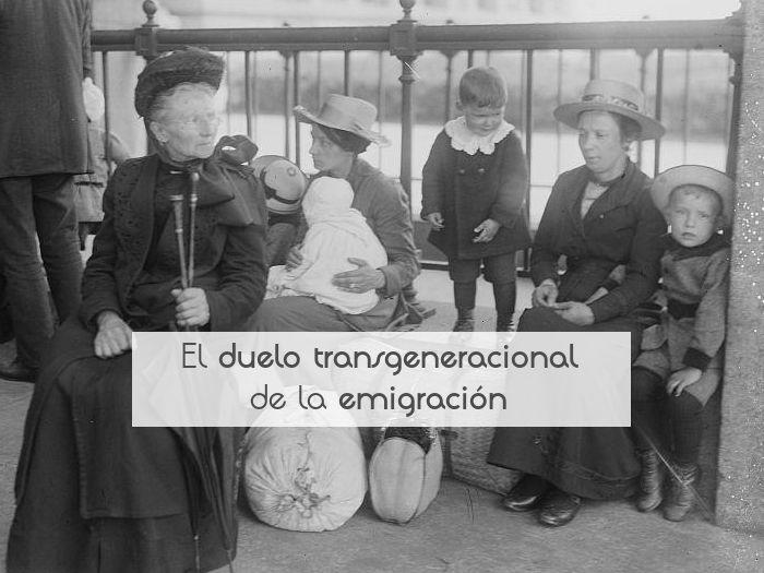 El duelo transgeneracional de la emigración