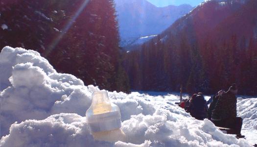 Tatry z niemowlakiem zimą. Porady praktyczne
