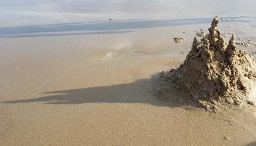 Jak zbudować zamek z piasku?
