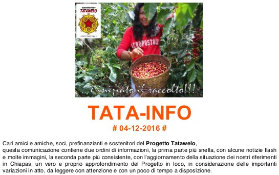 Newsletter TATA-INFO
