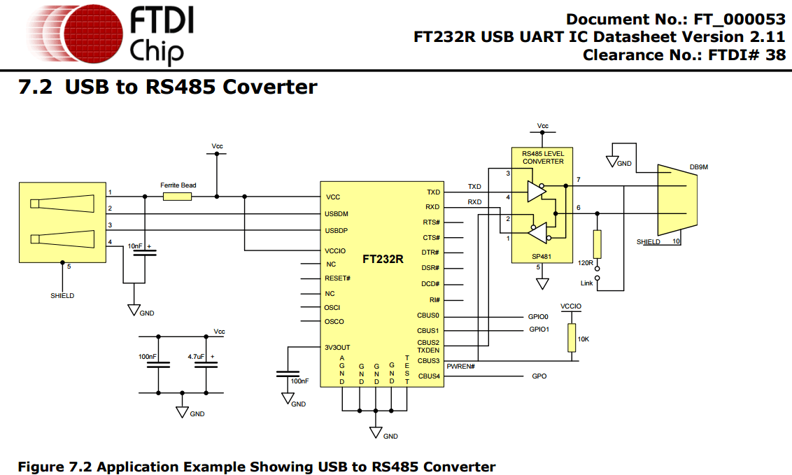 DIY USB to DMX converter