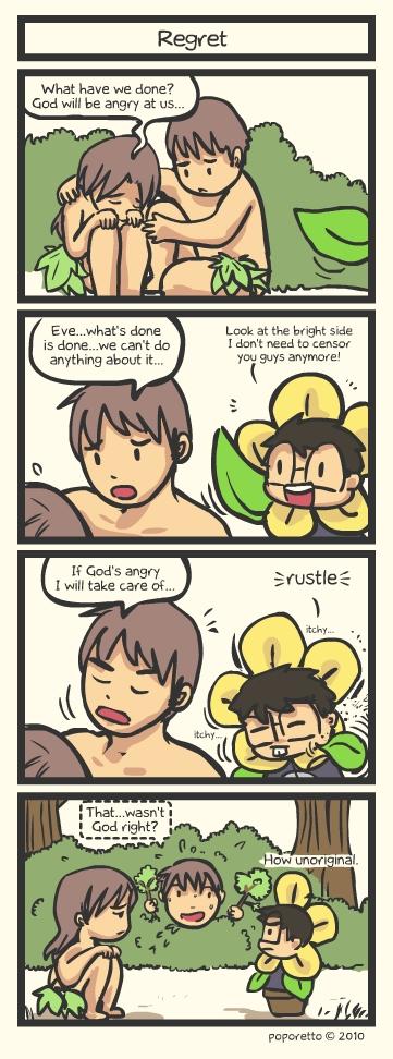 Genesis Bible Comic – Regret