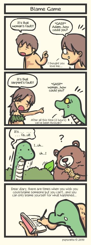 Genesis Bible Comic – Blame Game