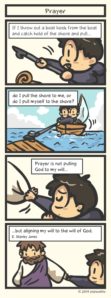 TAT Christian Comic Strip – About Prayer and Praying