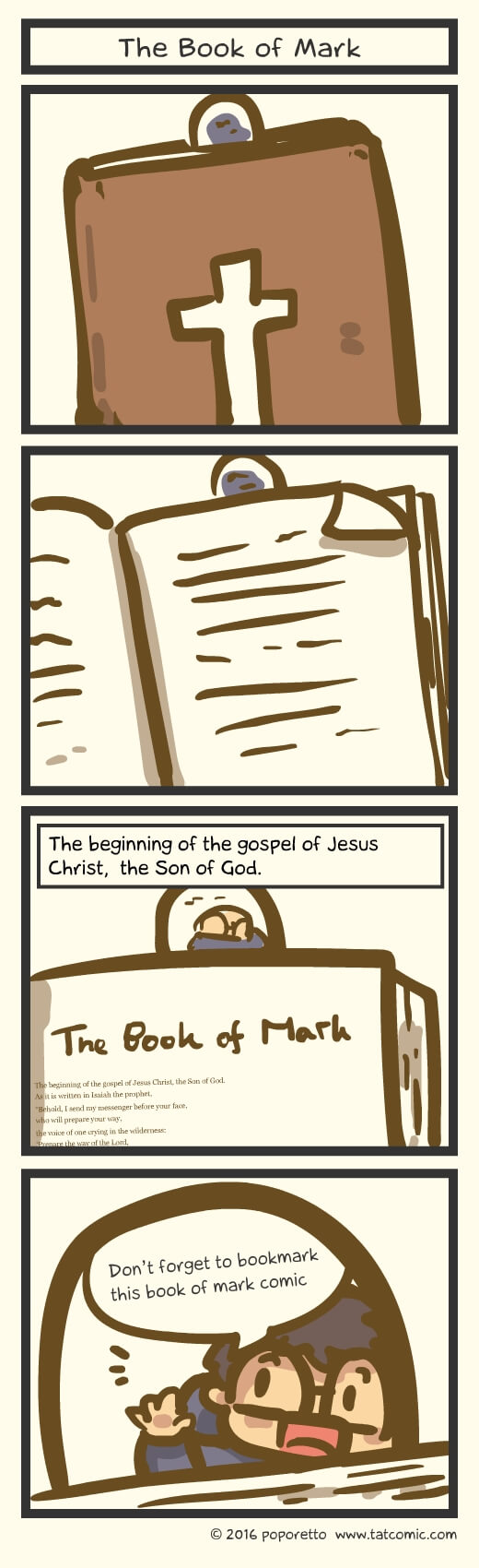 The Book of Mark – Introduction