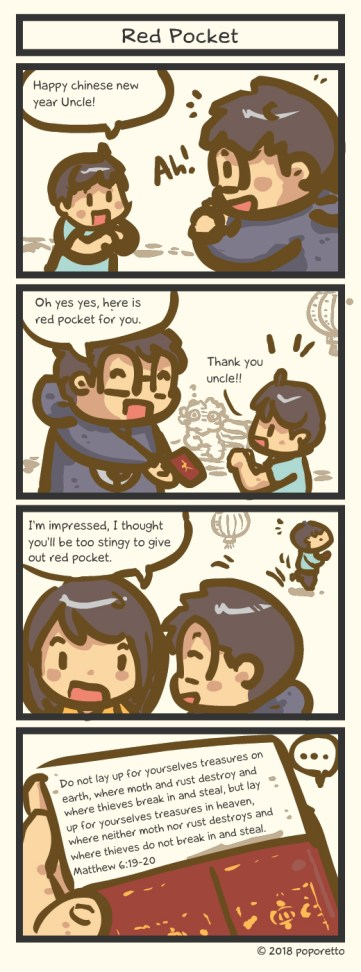 TAT Comic – Chinese New Year Red Pocket