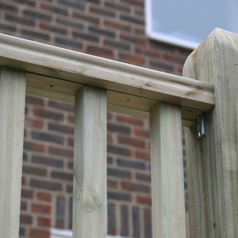 Decking Handrail Spacer Tate Fencing