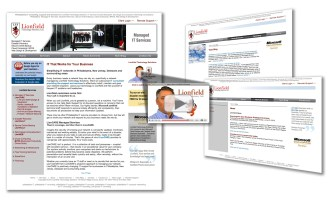 Lionfield Technology Solutions Website