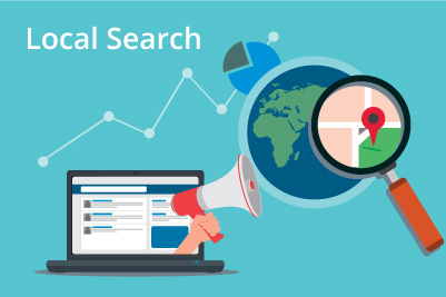 local search engine results abstract