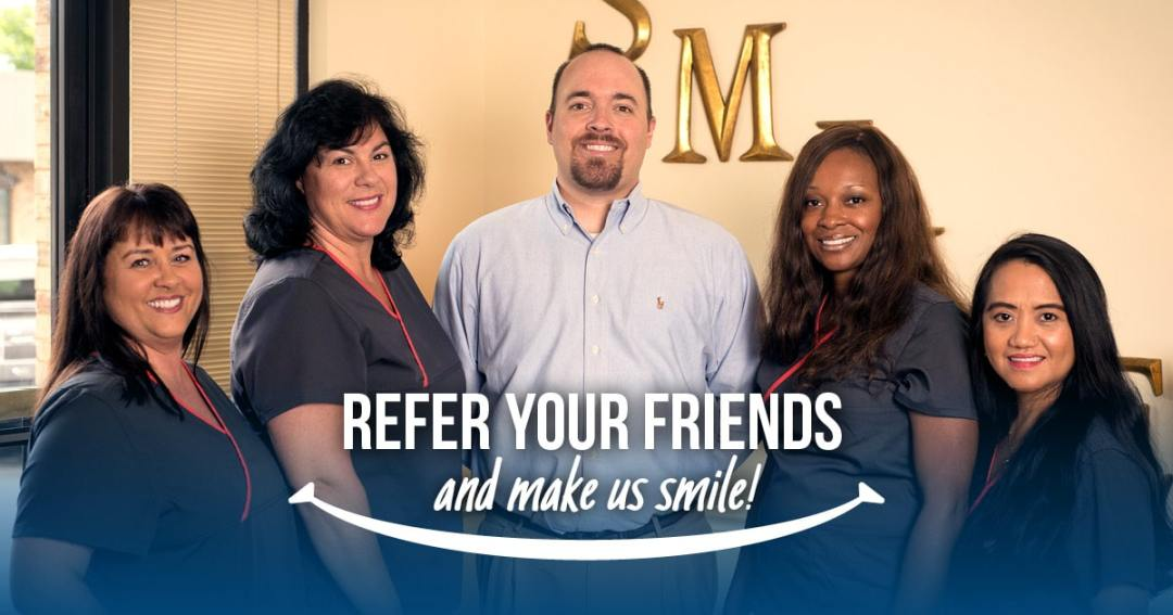 Refer a friend to Tate Eble, DDS