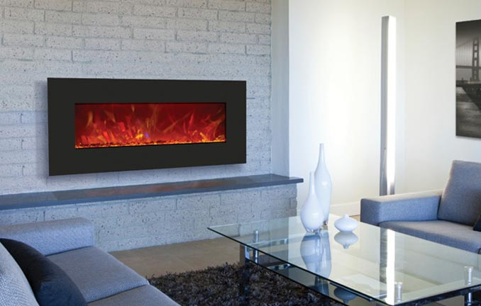 Amantii Wall Mounted Electric Fireplace