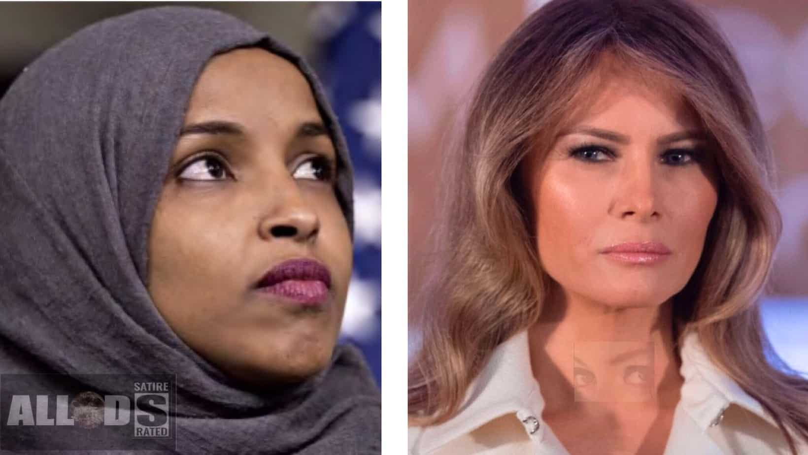 "I'm More American Than You! Go Home!"" Omar Screams At Melania ..."