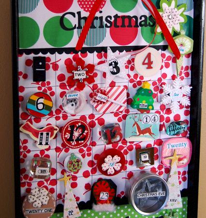 Cookie Sheet Advent Calendar