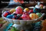 Easter Craft: what to do with those plastic eggs