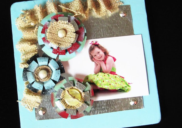 Project to Try: Metal Flower Embellishments!