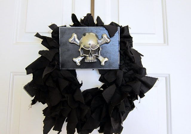 Guest Project — Make an Incredibly Cool Halloween Wreath!