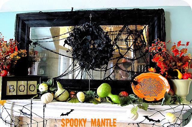 My Spookified Mantle — eeeeeek!