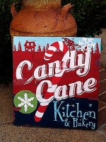 Guest Project — Create a Festive Candy Cane Holiday Sign!
