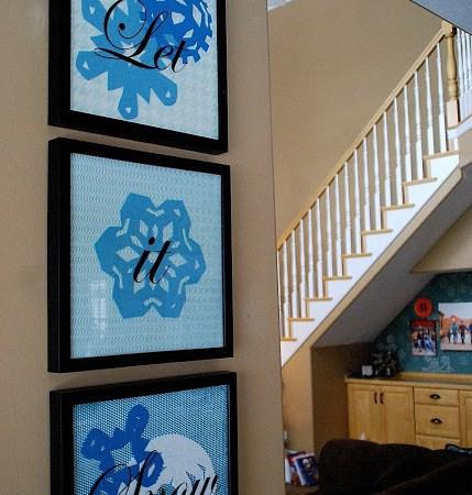 Felt Project — Winter Snowflake Specimen Art!