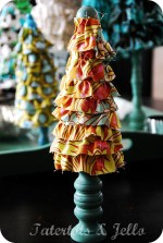 Christmas Project — **Ruffled Trees Tutorial**