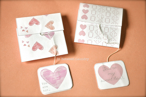 Guest Project — Tea Bag Valentines {with free printable}